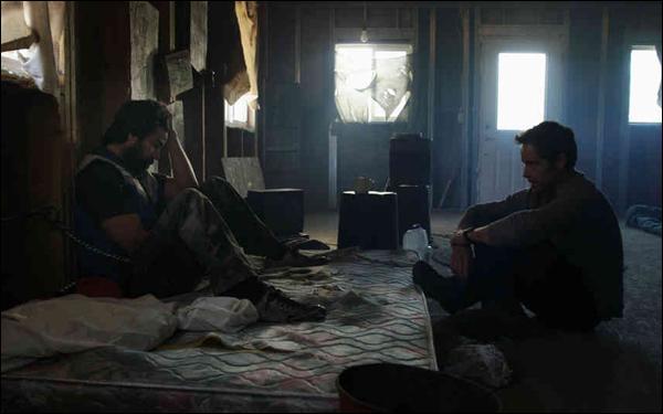 Vinny Curran and Peter Cilella in Aaron Moorhead and Justin Benson's film Resolution