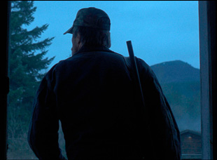 """Sam Rockwell as John Moon in """"A Single Shot"""""""