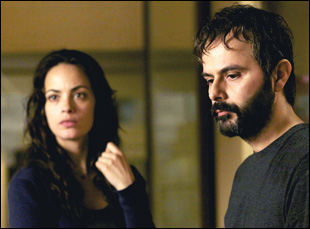 "Ali Mousaffa and Berenice Bejo in Asghar Farhadi's ""The Past"""