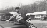 """Kitty Genovese in a scene from James Solomon's """"The Witness"""""""