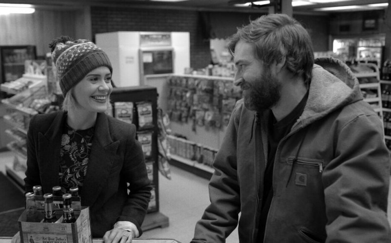 "Sarah Paulson and Mark Duplass in ""Blue Jay"""