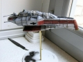 Star Wars Arc-170 Starfighter Model 4
