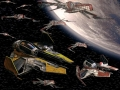 Star Wars Arc-170 Starfighter Composition