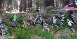 Star Wars Endor Diorama Featured Image
