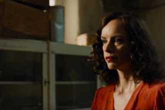 "Nina Hoss in Christian Petzold's ""Phoenix."""