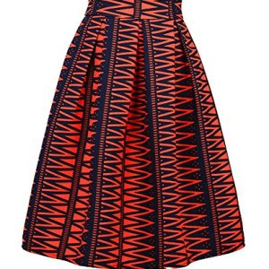 Dasbayla-Womens-High-Waist-Print-Floral-Pleated-Skirt-Midi-Skater-Skirt-one-Size-0