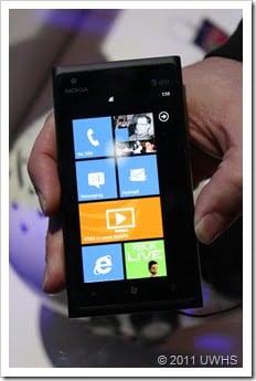 UWHS - Nokia Lumia 900 at CES 2012 - 2