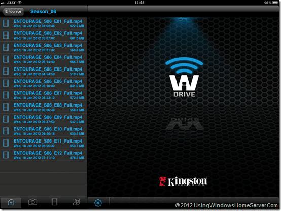 WiDrive Entourage List