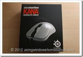 UWHS Review - SteelSeries Kana Mouse 001