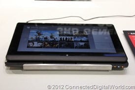 CDW - A closer look at the Toshiba Satellite U920t Convertible Ultrabook - 1