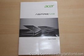 CDW Review of the Acer Aspire Timeline U - 36