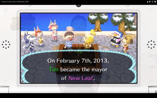 Animal Crossing - New Leaf