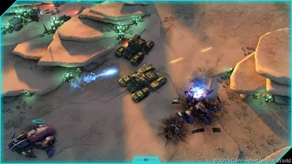 Halo Spartan Assault Screenshot - Heavy Armor Combat