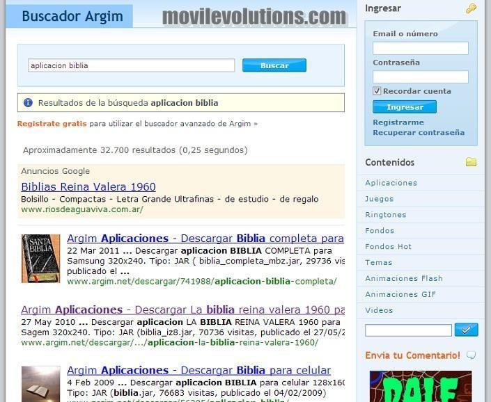 Biblia para movil touch, la aplicación que buscabas en tu móvil