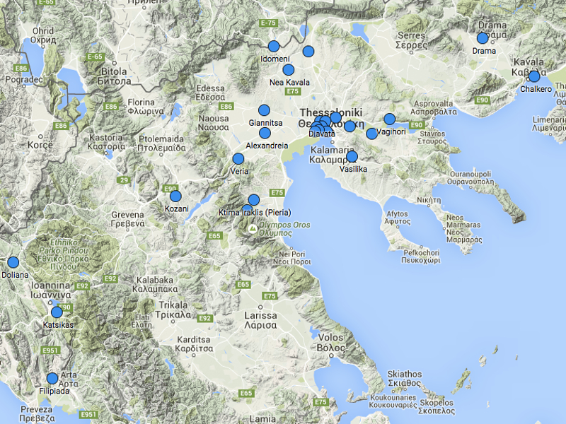 Permalink to:Mapping of refugee camps in Northern Greece