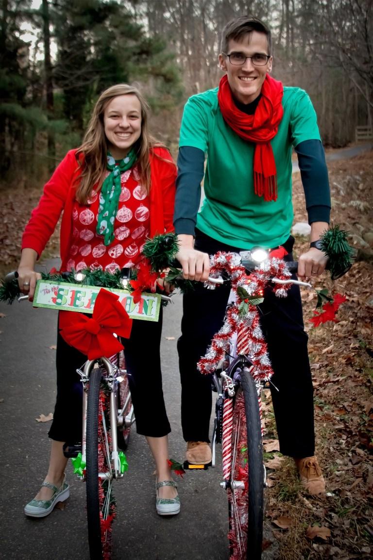 Christmas Bikes | Moving Peaces