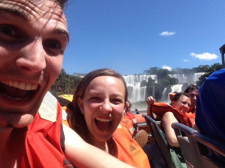 Ready for the Ride into the Falls | Moving Peaces