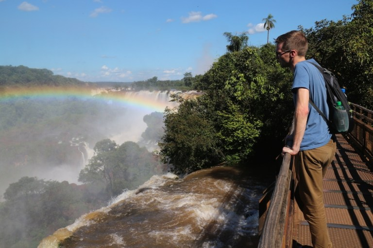 Rainbows at Iguazu | Moving Peaces