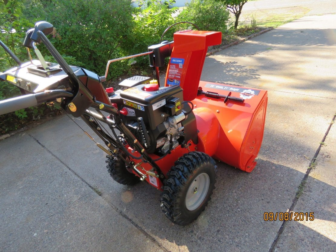 2015 Ariens Deluxe 28 SHO - Picture Review