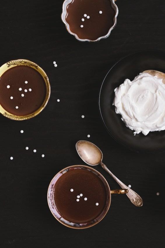 pot de creme au chocolat | movita beaucoup