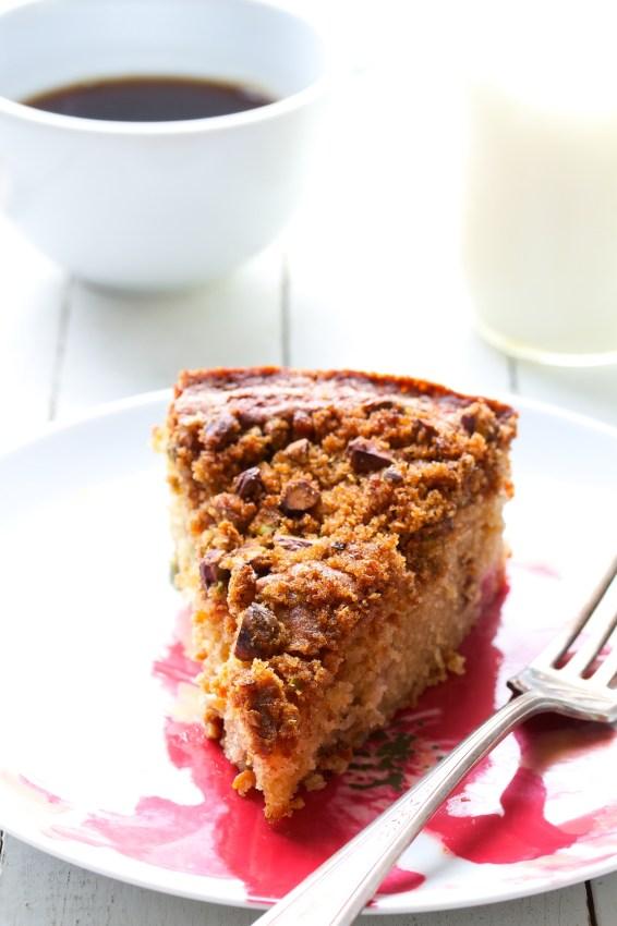cardamom rhubarb snacking cake | movita beaucoup