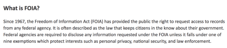22 -what is foia