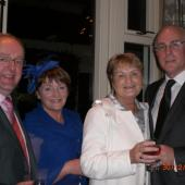 Mike & Eileen Kennelly with Patricia & Sean Walsh