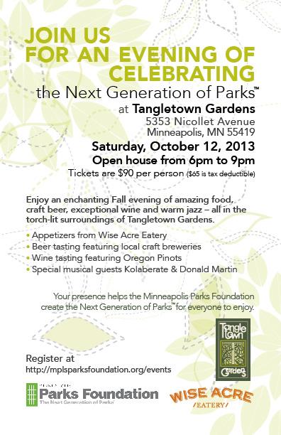 Tangletown Garden Event Details