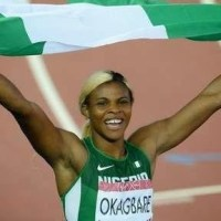 Nigerias own Blessing Okagbare wins Gold in Women's 100m final in Glasgow