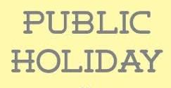 Federal Government Declares 6th & 7th of October Public Holidays