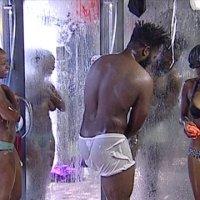 #BBAHotShots: Day 11 Shower Hour with Alusa, Trezagah, Goitse, Sipe & Esther : Video [dl]