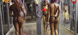 #BBAHotshots: Day 36 Shower Hour with Ellah, Samantha & Sheilla  : Video [dl]