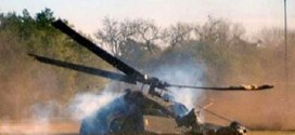 Photo of Military Helicopter Crash In Damare, Adamawa State