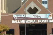 The victim was rushed to Ball Memorial Hospital. (Daily Mail)