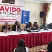 O.B.O, Davido Holds Press Conference in Kenya As #NigeriaDecides