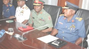 'We Lack Modern Weapons To Fight Insurgency' – Service Chiefs