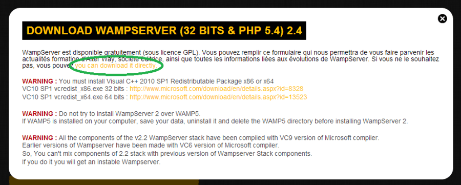Installation of WAMP Server- how to install wamp server - Installation of WAMP Server - step to install