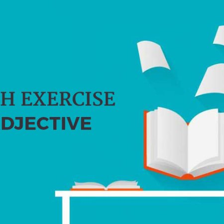 English_Excercise_Adjective