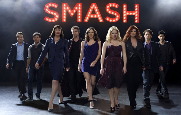 The cast of Smash, NBC