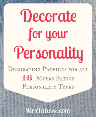 Decorate for your Personality