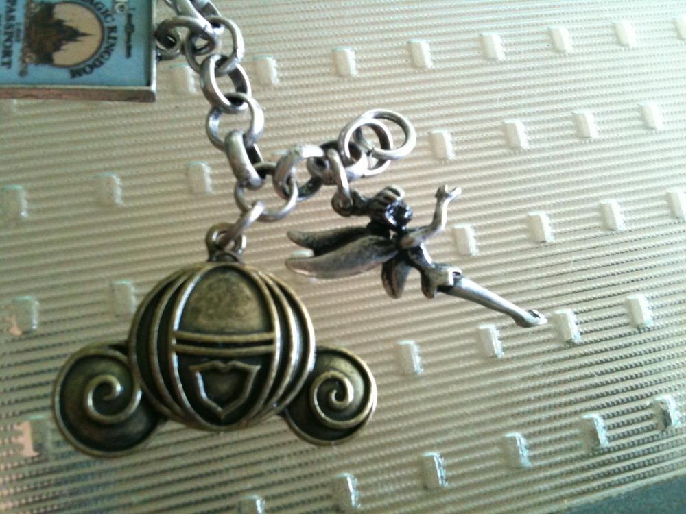 My new Walt Disney World charm bracelet