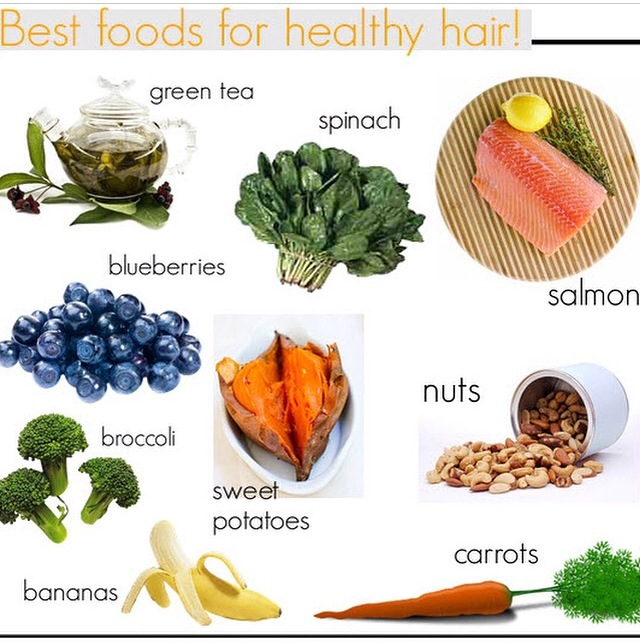 Best foods for natural hair
