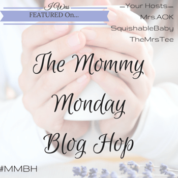 The Mommy Monday Blog Hop | TheMrsTee.com