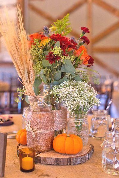 21 Incredibly Amazing Fall Wedding Decoration Ideas