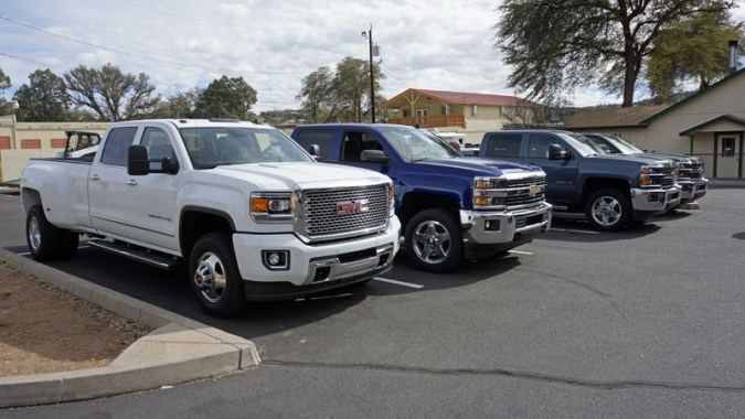 GM Gears Up For Pickup Truck Wars 2015