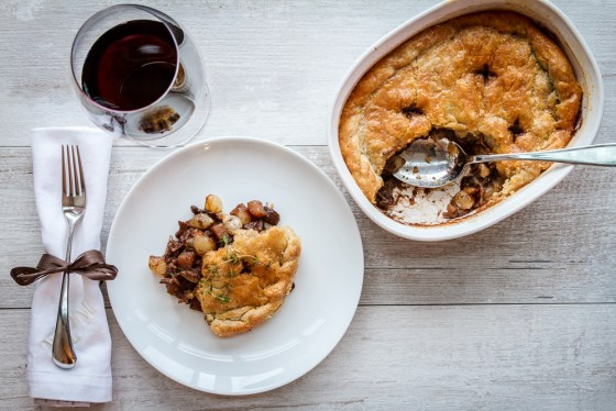 this is not your copper miner's meat pie...