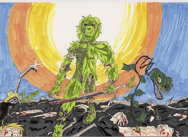 concours dessin manga revanche de la nature