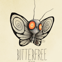 butterfree pokemon tim burton