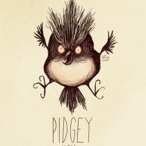 pidgey pokemon tim burton