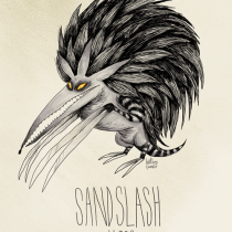 sandslash pokemon tim burton